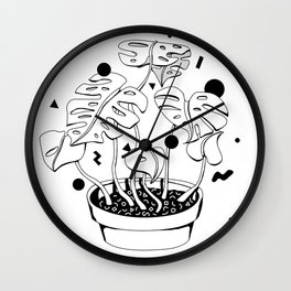 PLANT ONE Wall Clock