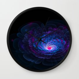 moonflowers are beautiful Wall Clock