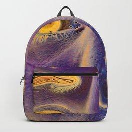 Golden Lilac Eyes Backpack