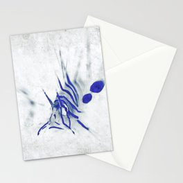 Lionfish Sketch Stationery Cards