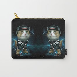 TEAM MEOW HOCKEY Carry-All Pouch