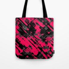 Hot pink and black digital art G75 Tote Bag