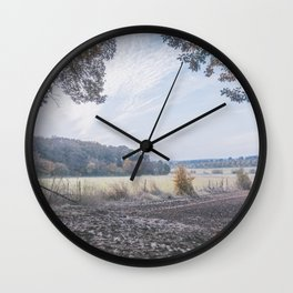 Around Luxembourg Wall Clock