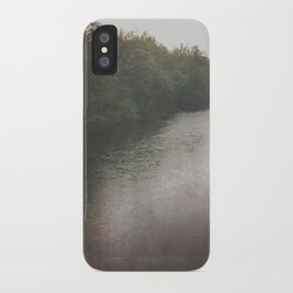 chasing the fog iPhone Case