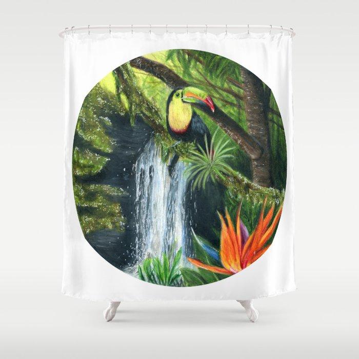 Rainforest Shower Curtain By Silverstarsammy