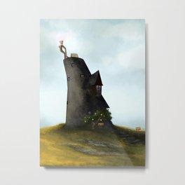 Lovegood House Metal Print