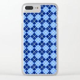 Argyle Clear iPhone Case