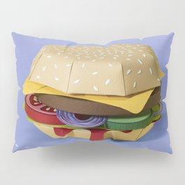 PAPER BURGER Pillow Sham