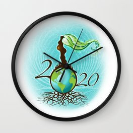 Mother Earth 2020 Wall Clock