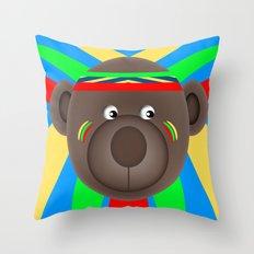 Little Indian Throw Pillow