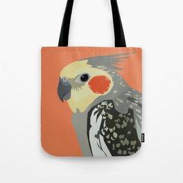 Marcus the cockatiel Tote Bag