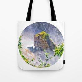 Rock in the falls Tote Bag