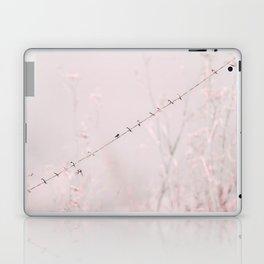 Birds on a wire II Laptop & iPad Skin