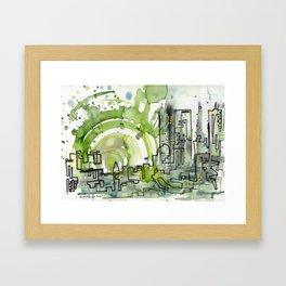 City of Tomorrow Framed Art Print