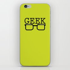Geek iPhone & iPod Skin