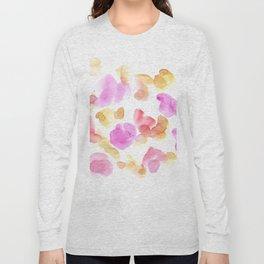 170722 Colour Living 18  Modern Watercolor Art   Abstract Watercolors Long Sleeve T-shirt