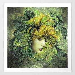 ENCHANTING BEAUTY Art Print