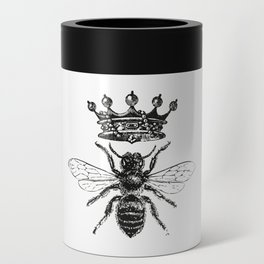 Queen Bee | Black and White Can Cooler