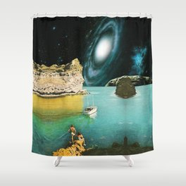 View from Rhodes Shower Curtain