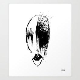 ruthie rage Art Print