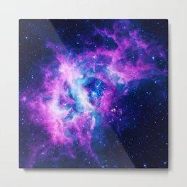 Dream Of Nebula Galaxy Metal Print