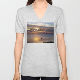 Early Bird Unisex V-Neck
