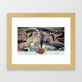 Santa Sede Framed Art Print