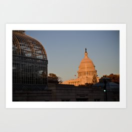 The Capital Art Print