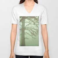 illusion V-neck T-shirts featuring Illusion by Olivia Joy StClaire
