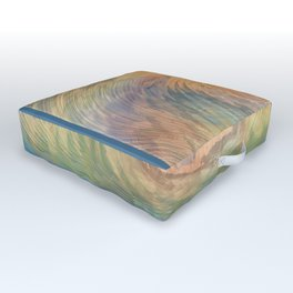 Cosmic Wave Outdoor Floor Cushion