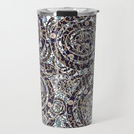 Year of the Snake mosaic Travel Mug