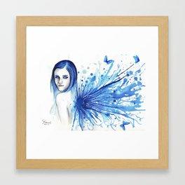 My perception of you Framed Art Print