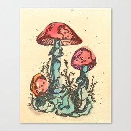 Mushrooms 3 Canvas Print