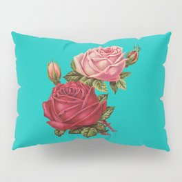 Floral Pop Pillow Sham