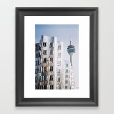 City of future Framed Art Print