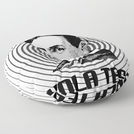 NIKOLA TESLA Floor Pillow