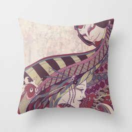Kabuki Throw Pillow