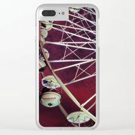 The Big Wheel Clear iPhone Case