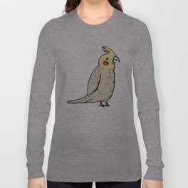Happy Cockatiel Long Sleeve T-shirt