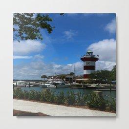 Harbour Town Light Metal Print