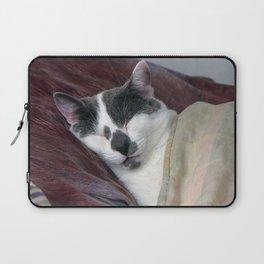 Cat Napping Laptop Sleeve