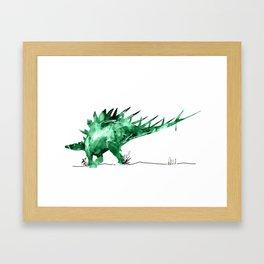 Stegosaurdae Framed Art Print