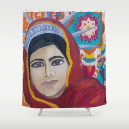 Indian American Shower Curtain