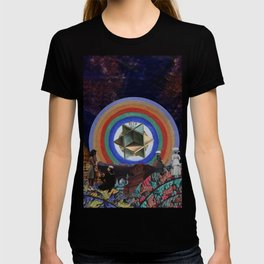 The Sky Holds a Radiant Canvas T-shirt