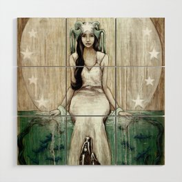 Swim Beyond Wood Wall Art