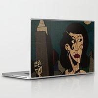noir Laptop & iPad Skins featuring Noir by Matt Jeffs