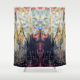 Life Wells Up in the Bayou Shower Curtain