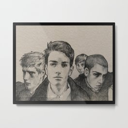 The Raven Boys Metal Print