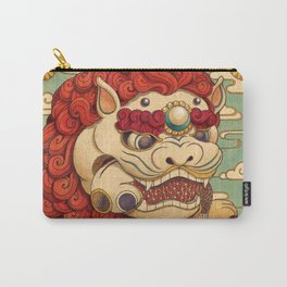 Chinese Lion Carry-All Pouch