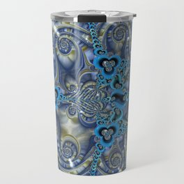Filigrees and Spirals Travel Mug